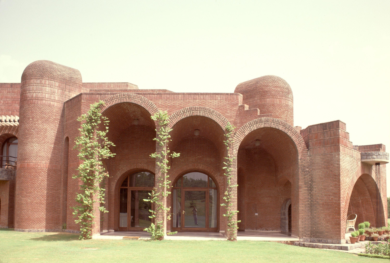 Belgium Embassy New Delhi Brick Architecture Architecture Exterior Arch Building