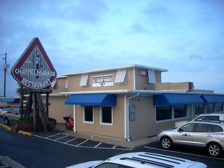 The Channel Marker Restaurant At Atlantic Beach N C My First Experience With Was This Past Summer 2017