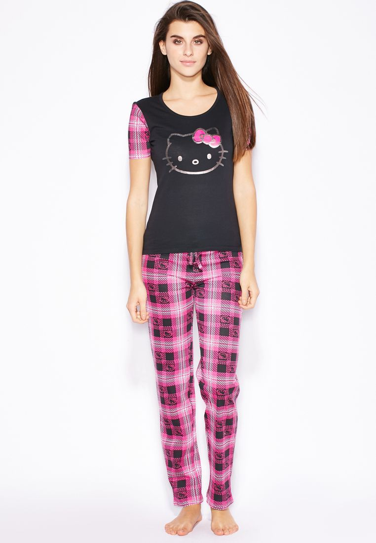 470a36f82 Shop Hello Kitty prints Pyjama Set - Women Shoes, Clothes, Accessories,  Bags in UAE