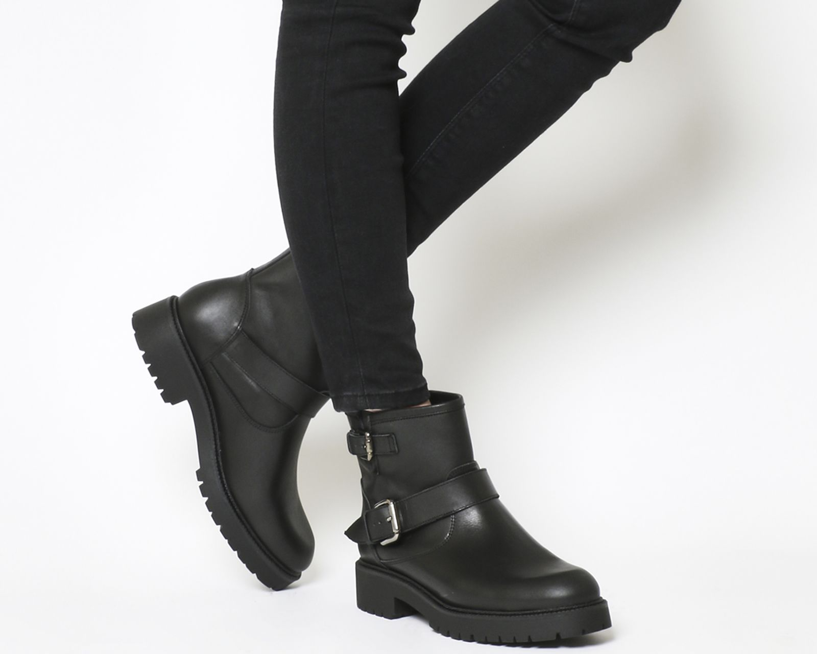 Boots, Biker boots, Black leather boots