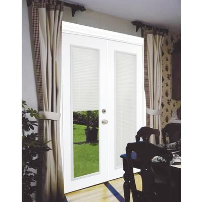 Stanley Doors Steel Garden Door Internal Mini Blinds 6 Foot X Inches