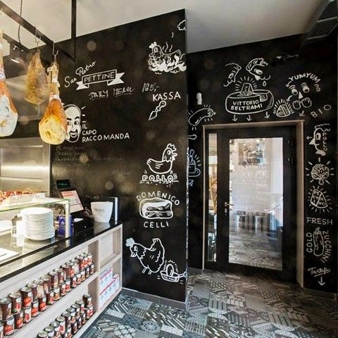 Schwarze beschreibbare Wand ohne Kreidestaub? Mit Smart Wall Paint