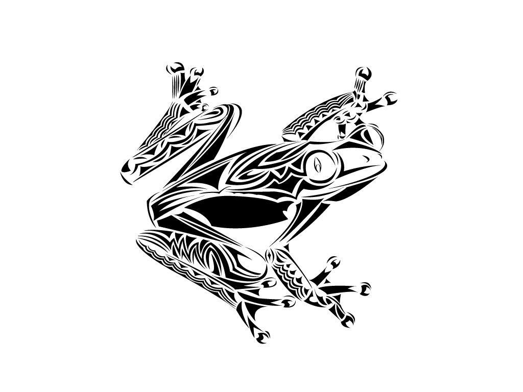 Frog tattoo google keres s amiket sz vesen viseln k for Tribal frog tattoo