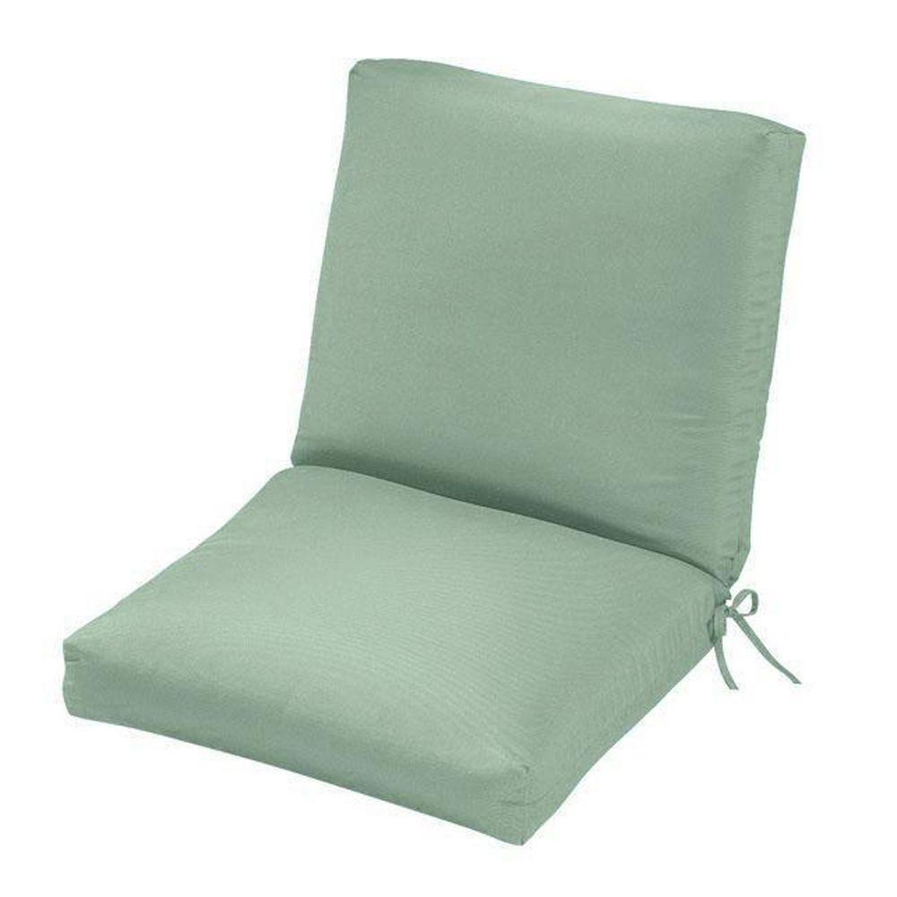 Home Decorators Collection Sunbrella Mist Outdoor Lounge Chair