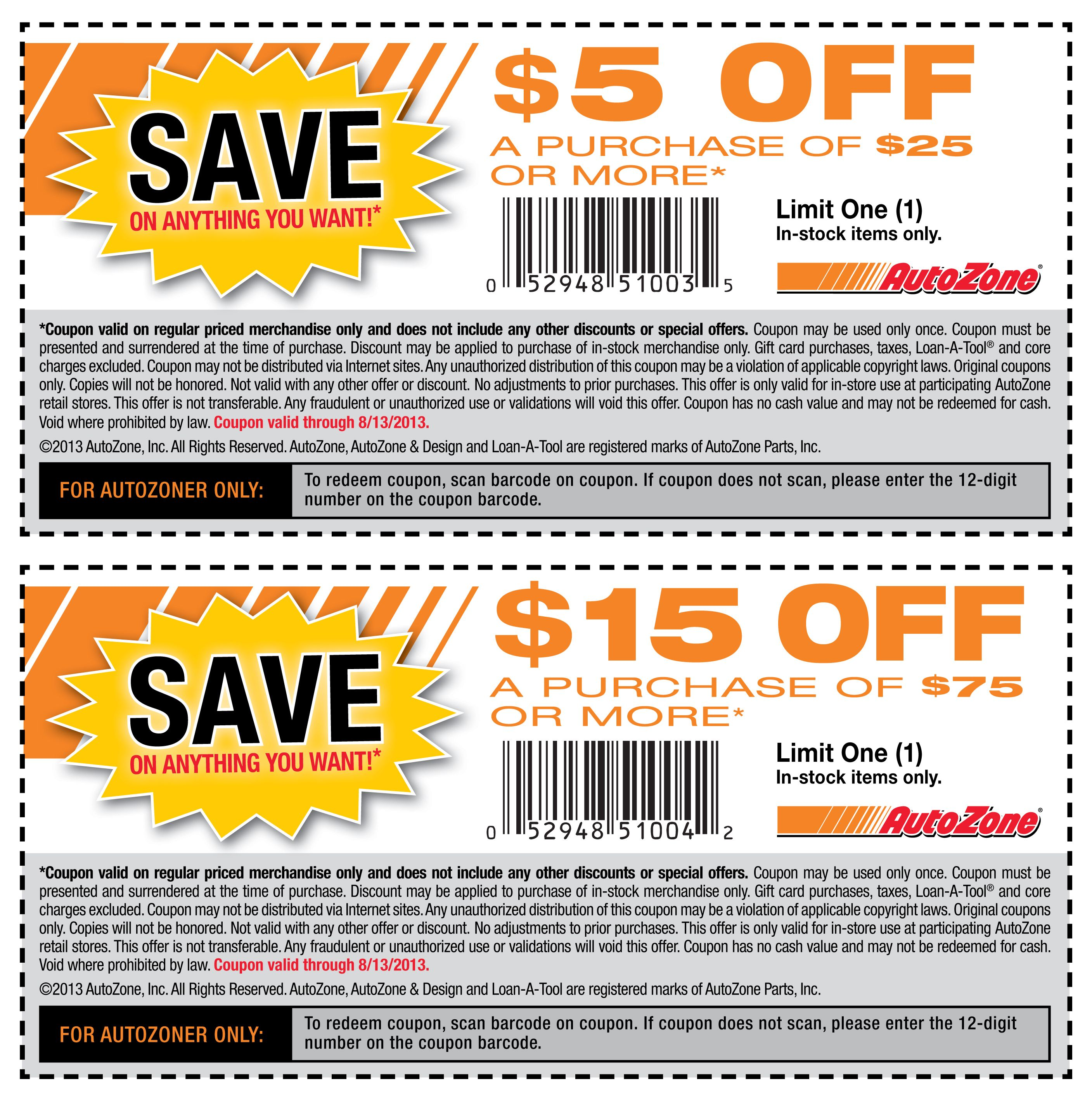 Auto Zone Printable Coupons Coupon Apps Printable Coupons Coupons