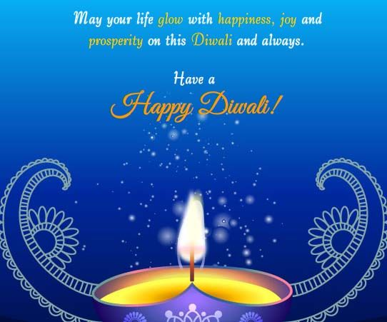 Kindle the diwaliness in every heart this diwali with a sparkling wish your friends family dear ones with this elegant diwali e card free online the glow of the diyas ecards on diwali m4hsunfo