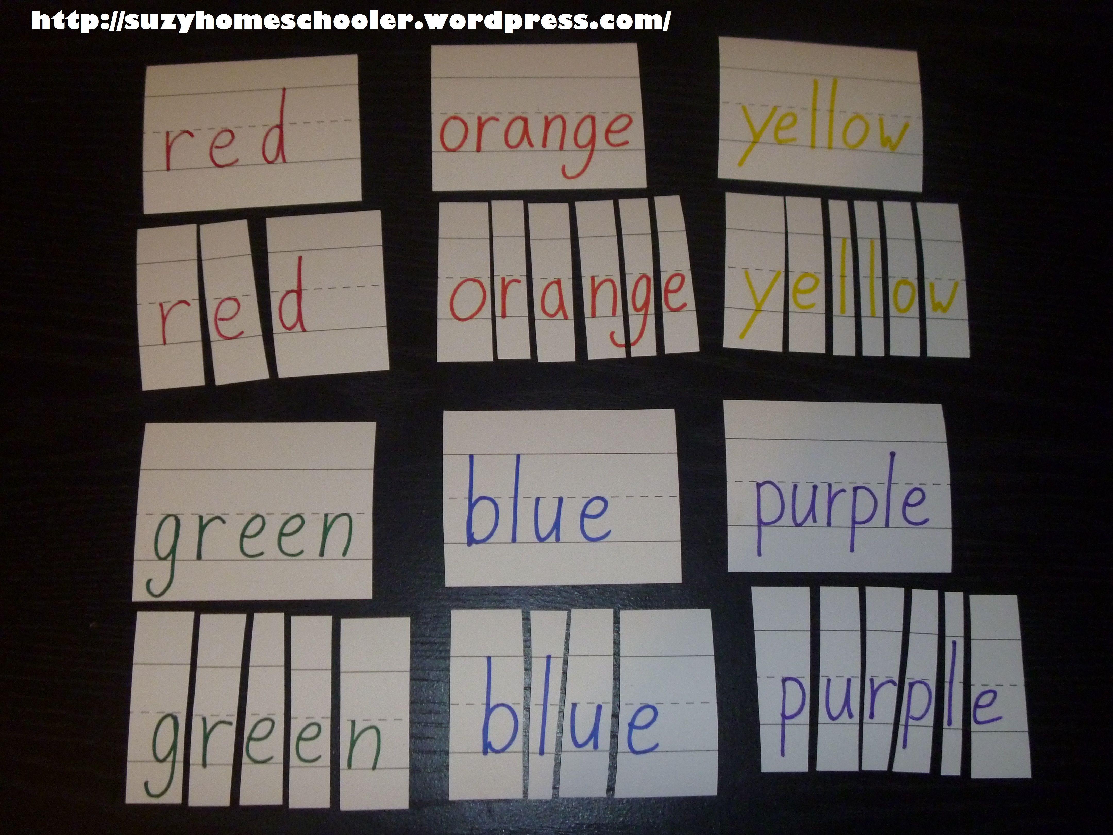 Preschool Box Lessons For Rainbow Theme Week From Suzy Homeschooler 6 4 320 3 240 Pixels
