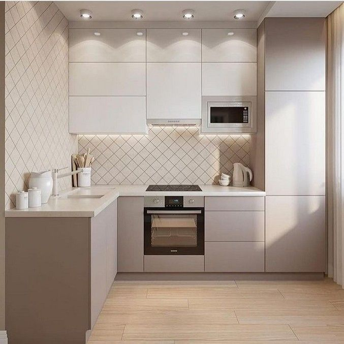 25 Easy Simple Kitchen Design Ideas You Must Try 8 Homedesignss Com In 2020 Simple Kitchen Design Kitchen Room Design Kitchen Design Small