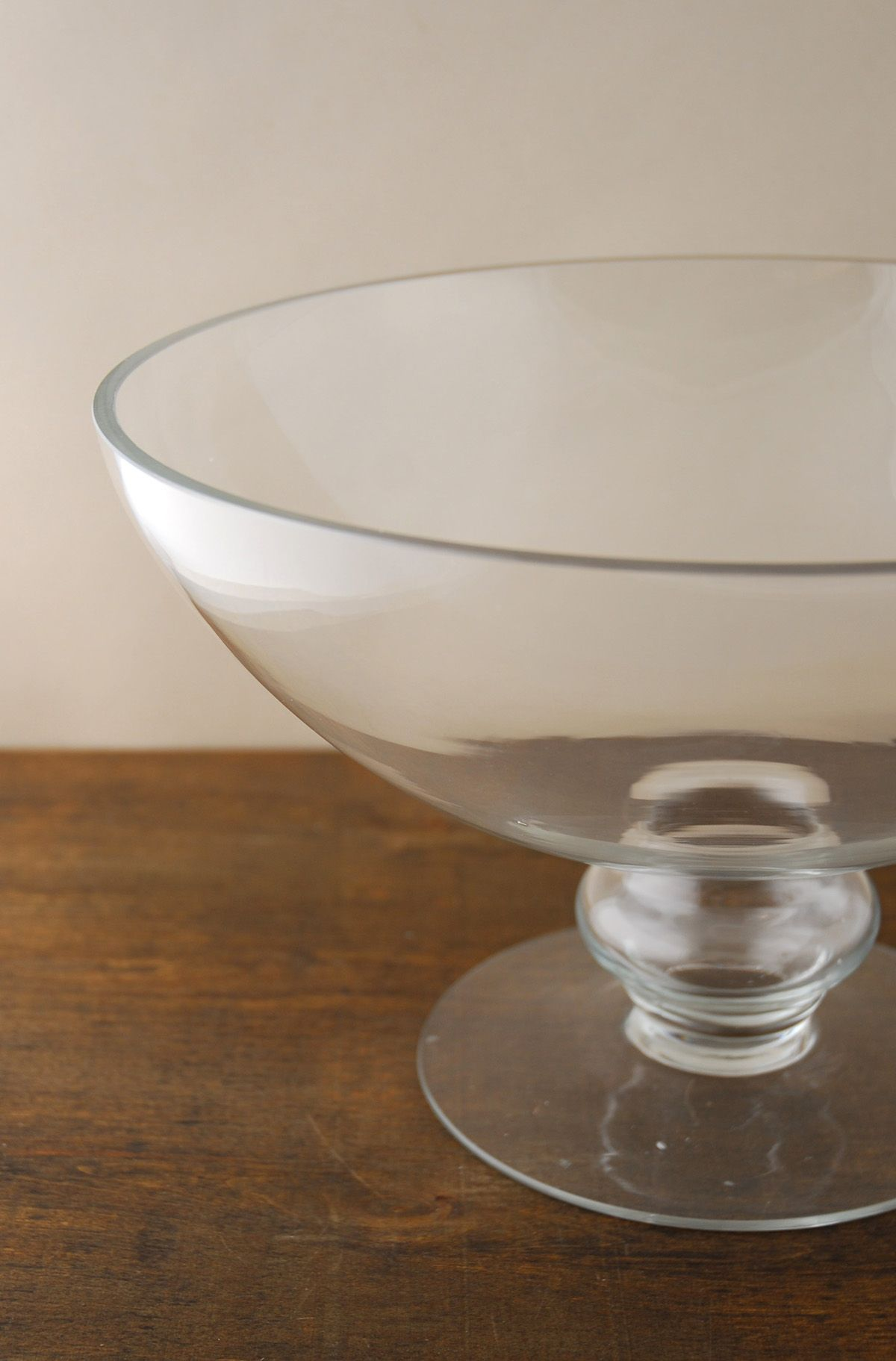 Pedestal 12 Glass Bowl Centerpiece Bowls Floating Flower Bowls Bowl Flower Bowl Centerpiece Bowl