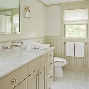 D Thomas Scott Bathrooms White And Taupe Bath White And Taupe