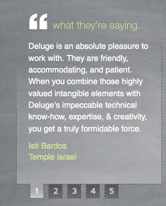 Quotation Marks Trend  Testimonial Pages Website Design