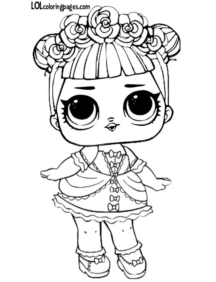 Free Printable Lol Doll Coloring Pictures Dollface Unicorn Coloring Pages Coloring Pages Lol Dolls