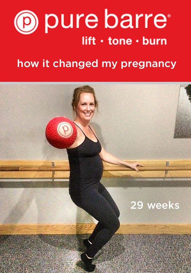 6a12dce7812128 Pure Barre and pregnancy seem to complement each other quite nicely for  Emily from #PureBarre Savannah—read about her experience.