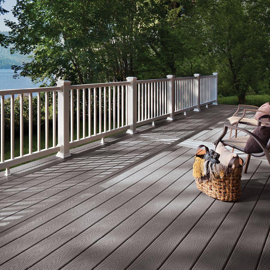 Trex Select Pebble Grey Fascia 12 X 12 Outdoor Flooring