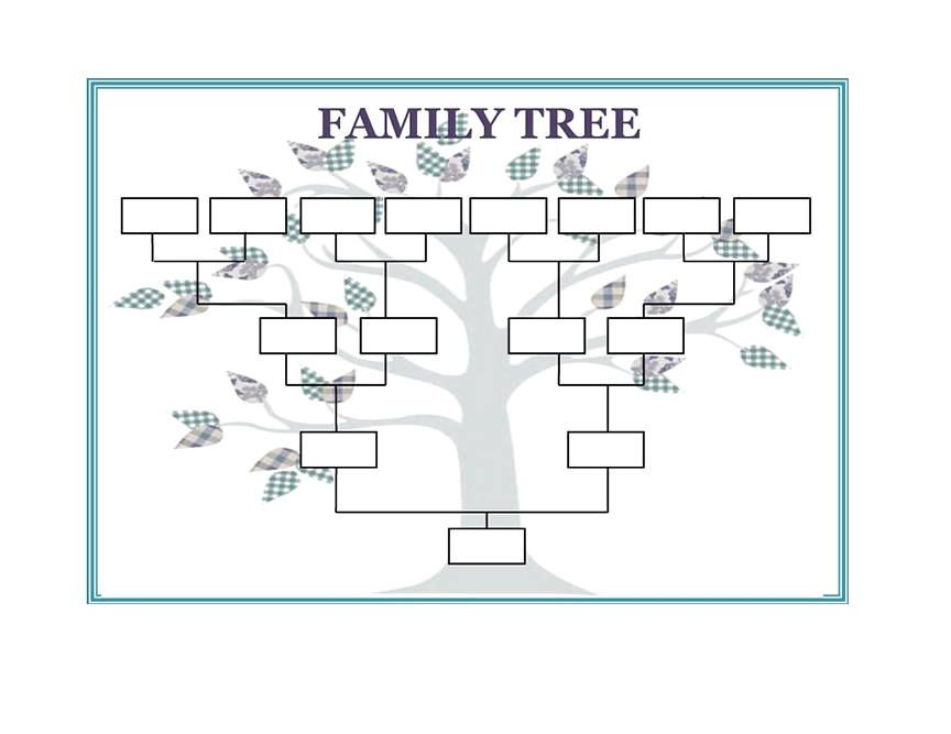 25 Family Tree Templates Free Download Family Tree Template Word Blank Family Tree Family Tree Printable