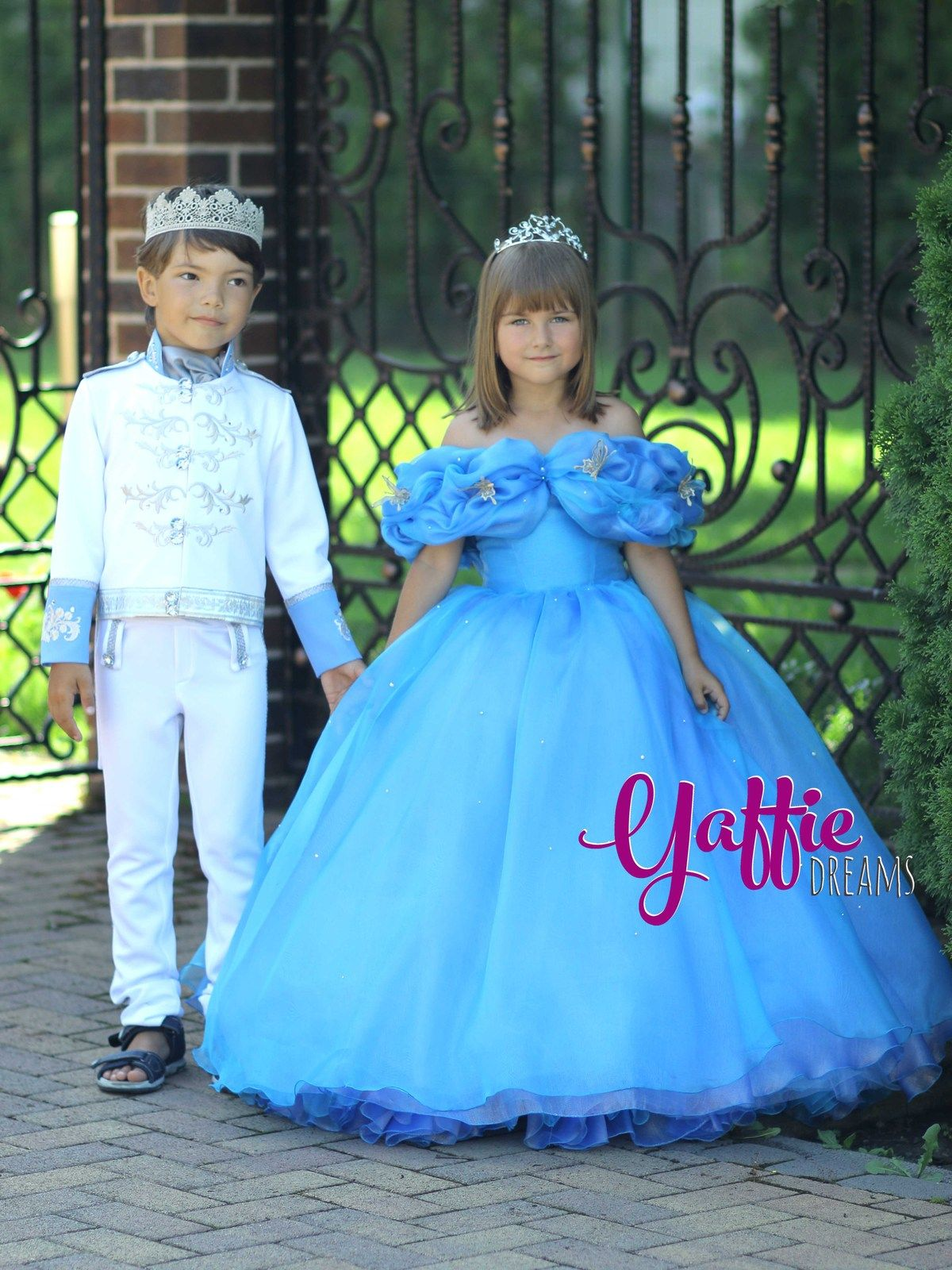 Cinderella 2015 movie dress Disney princess ball gown Halloween ...