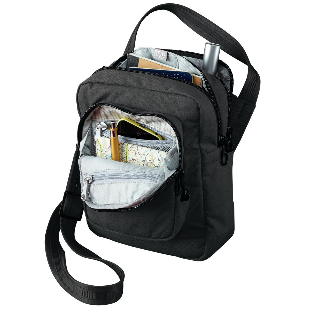 Pacsafe Citysafe LS75 RFID Crossbody Travel Bag  ba4b9b5b25b83