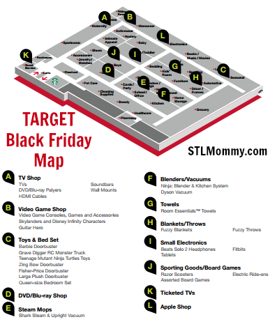 Target Black Friday Map Target Black Friday Map | Black Friday 2015 | Black friday, Target