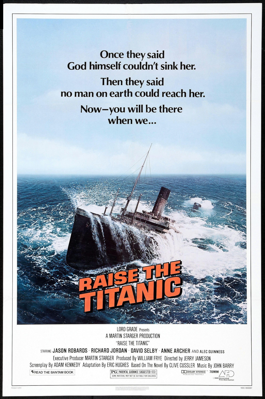 Raise The Titanic 1980 Poster Restoration Performed By Darren Harrison Carteles De Cine Afiche De Cine Alec Guinness