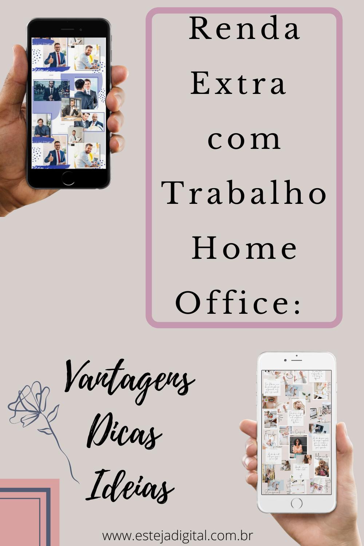 Renda Extra com Trabalho Home Office: Vantagens, Dicas e Ideias