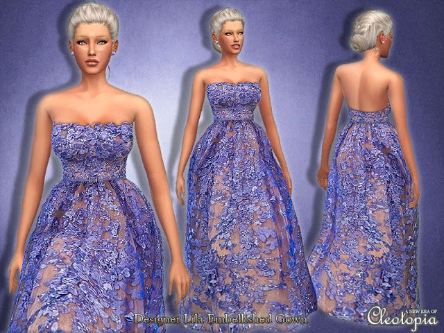 Sims 4 CC's - The Best: Clothing for Women by Cleotopia