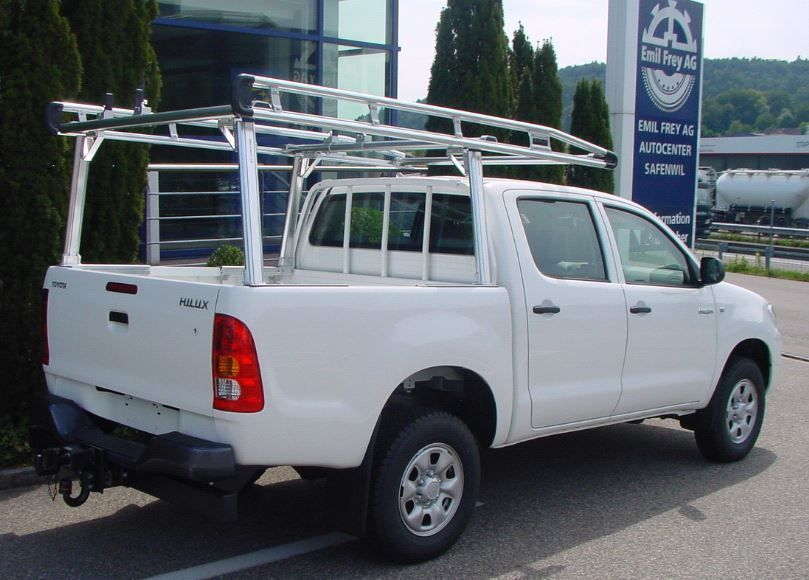 prime design full pick up roof rack for mitsubishi l200 with roller