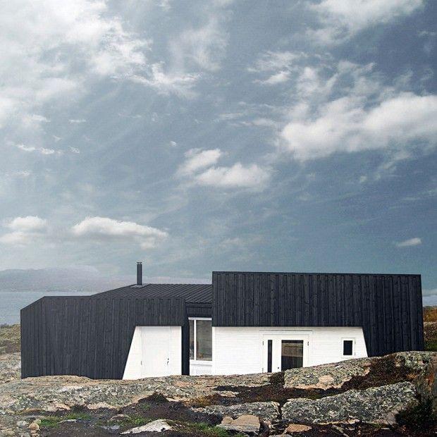 Maison au bord du0027un fjord par Vardehaugen Architecture and House - installation d une climatisation maison