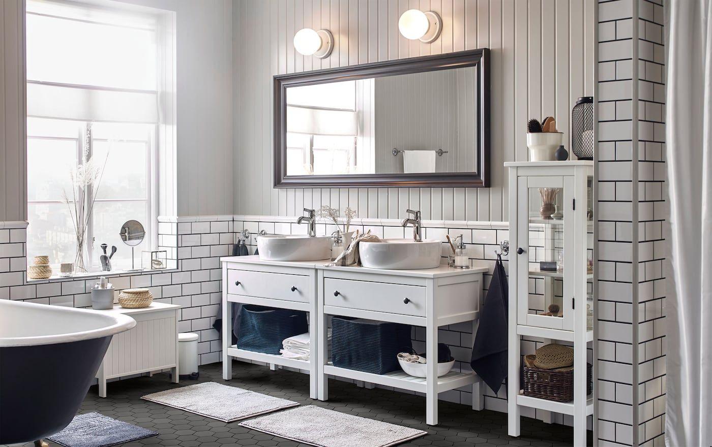 18+ Hemnes salle de bain trends