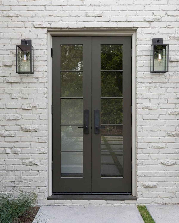 100 Unique Front Doors Colors Design Ideas French Doors Exterior Traditional Front Doors French Doors Patio