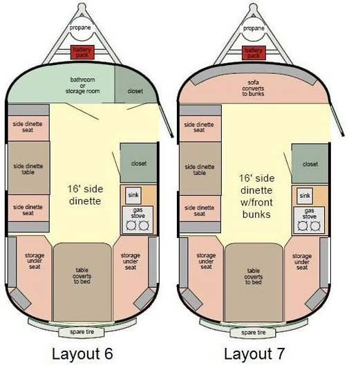 Scamp 16 Travel Trailer Floorplans Library Of Ideas
