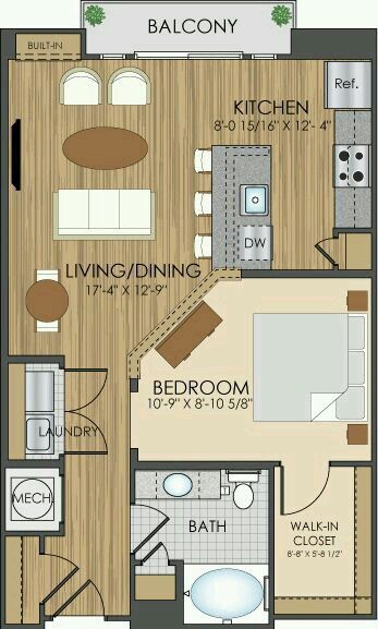 Pin by Brianna Miller on houses House, House plans, Apartment