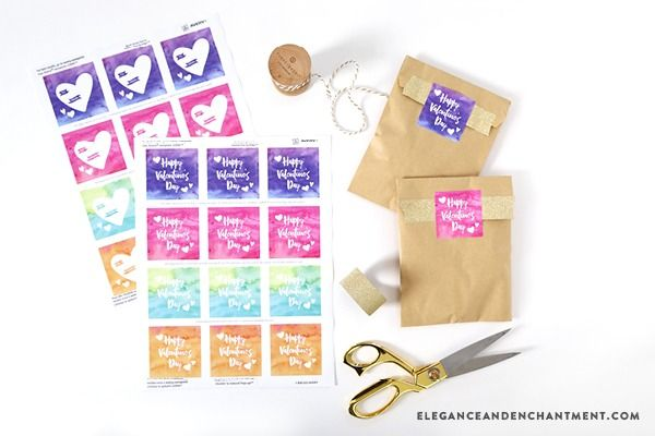free printable valentine s day coupons and stickers pinterest