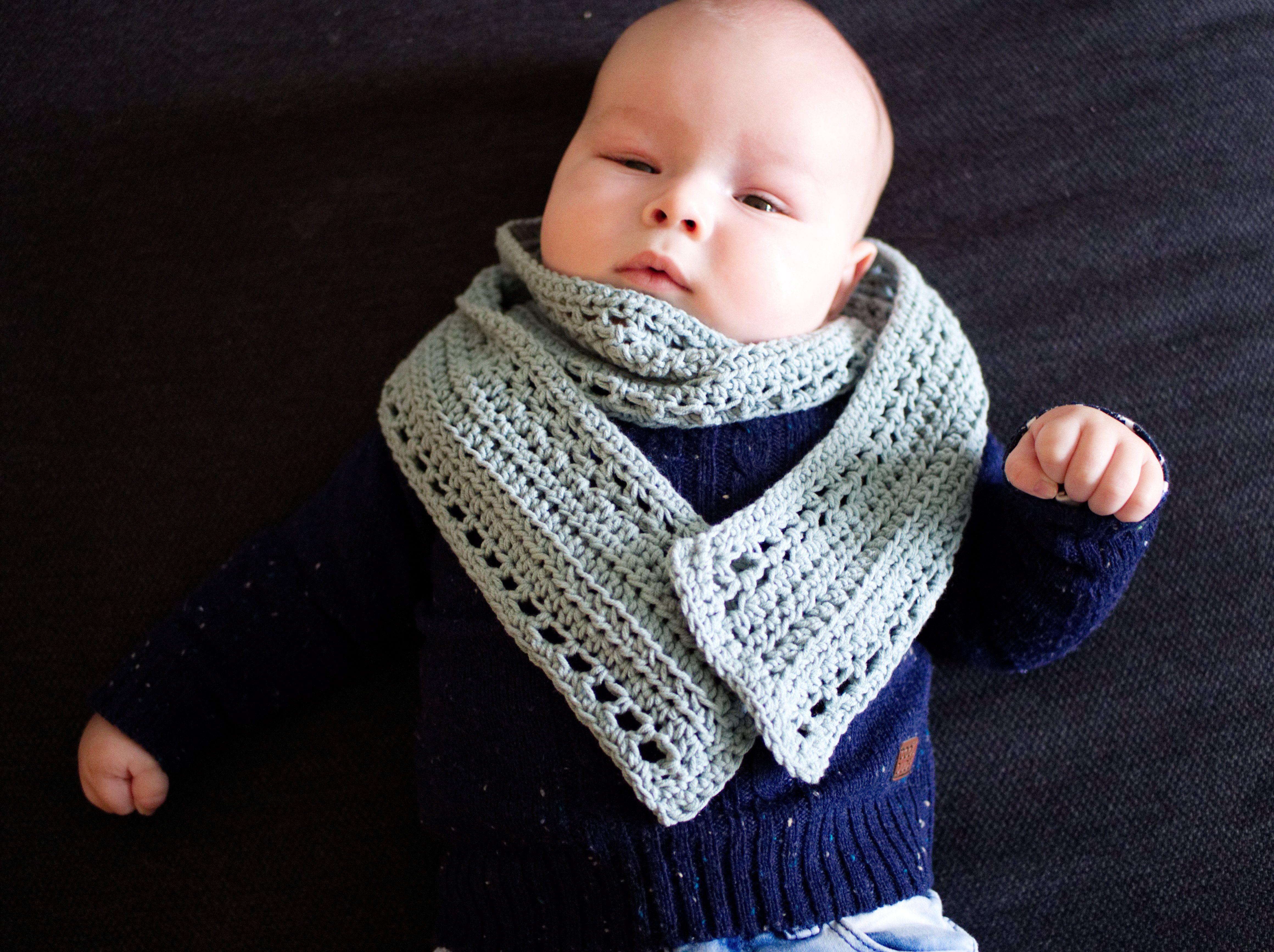 Babysjaal Haken Gratis Patroon Baby Shawl Crochet Free Pattern