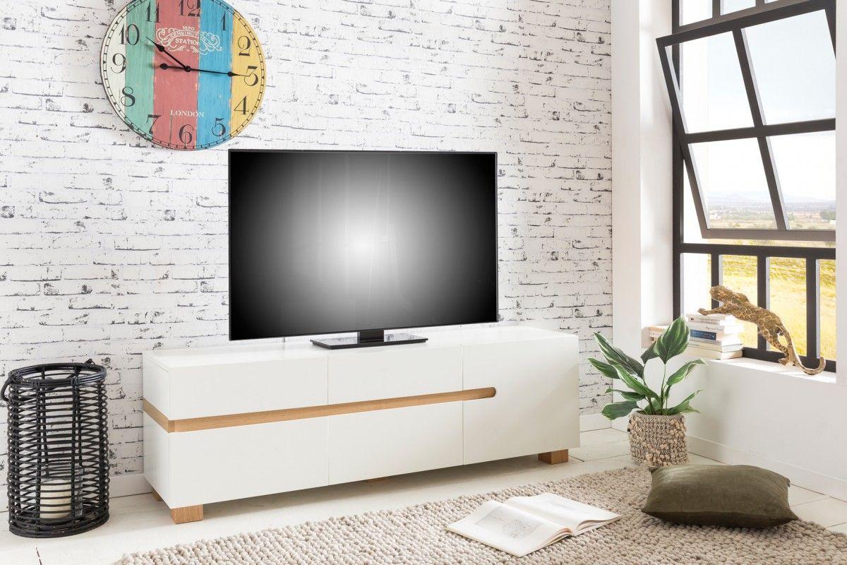 Mini wohnzimmer ~ Wohnling tv lowboaord im skandinavischen stil wl5.215 aus mdf holz