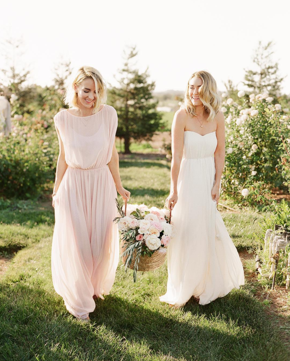 Lauren Conrad Has Perfect Advice For Picking A Bridesmaid Dress Bridesmaid Dresses Bridesmaid Dress Advice