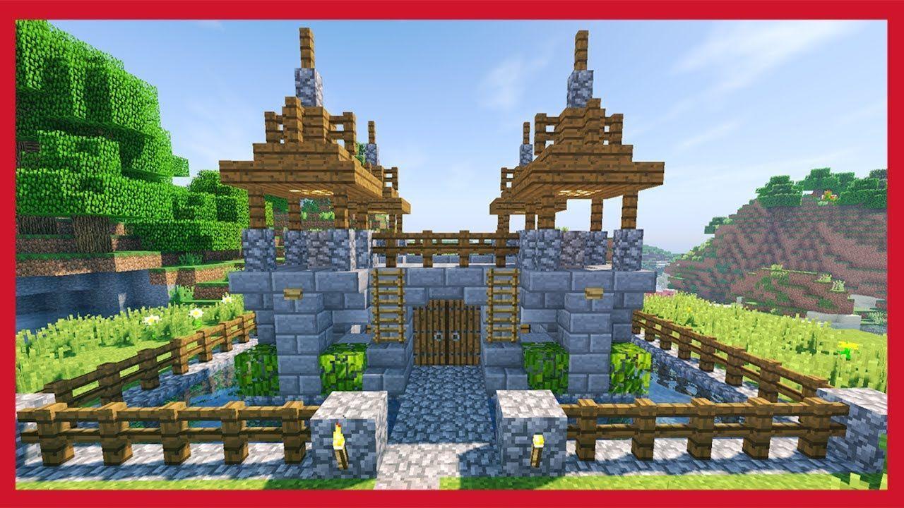 Minecraft: Come Costruire Un Castello - YouTube # ...