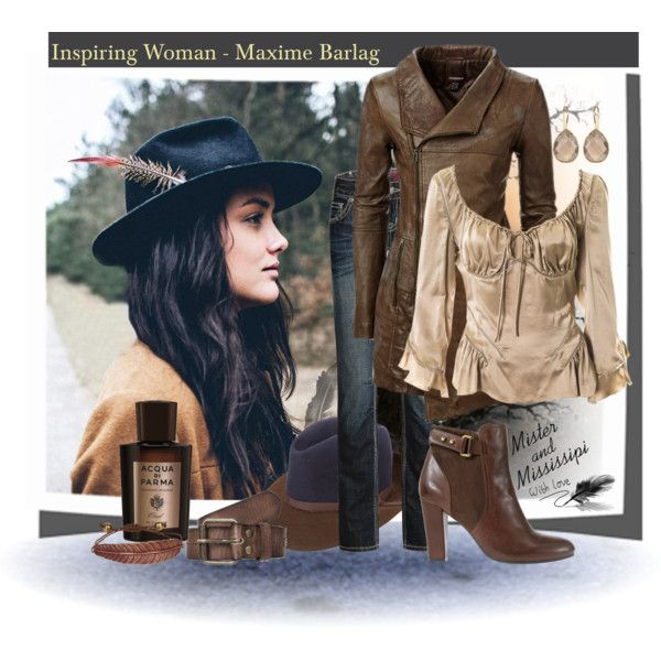 """""""Inspiring WomanMaxime Barlag lead singer of the band Mister and Mississippi"""" by sapora on Polyvore"""
