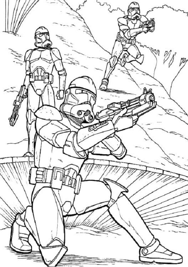 Having And Showing Clone Trooper Coloring Pages To Print Might Be A Fun Activity To Do Among Star Wars Star Wars Coloring Book Star Wars Artwork Star Wars Art