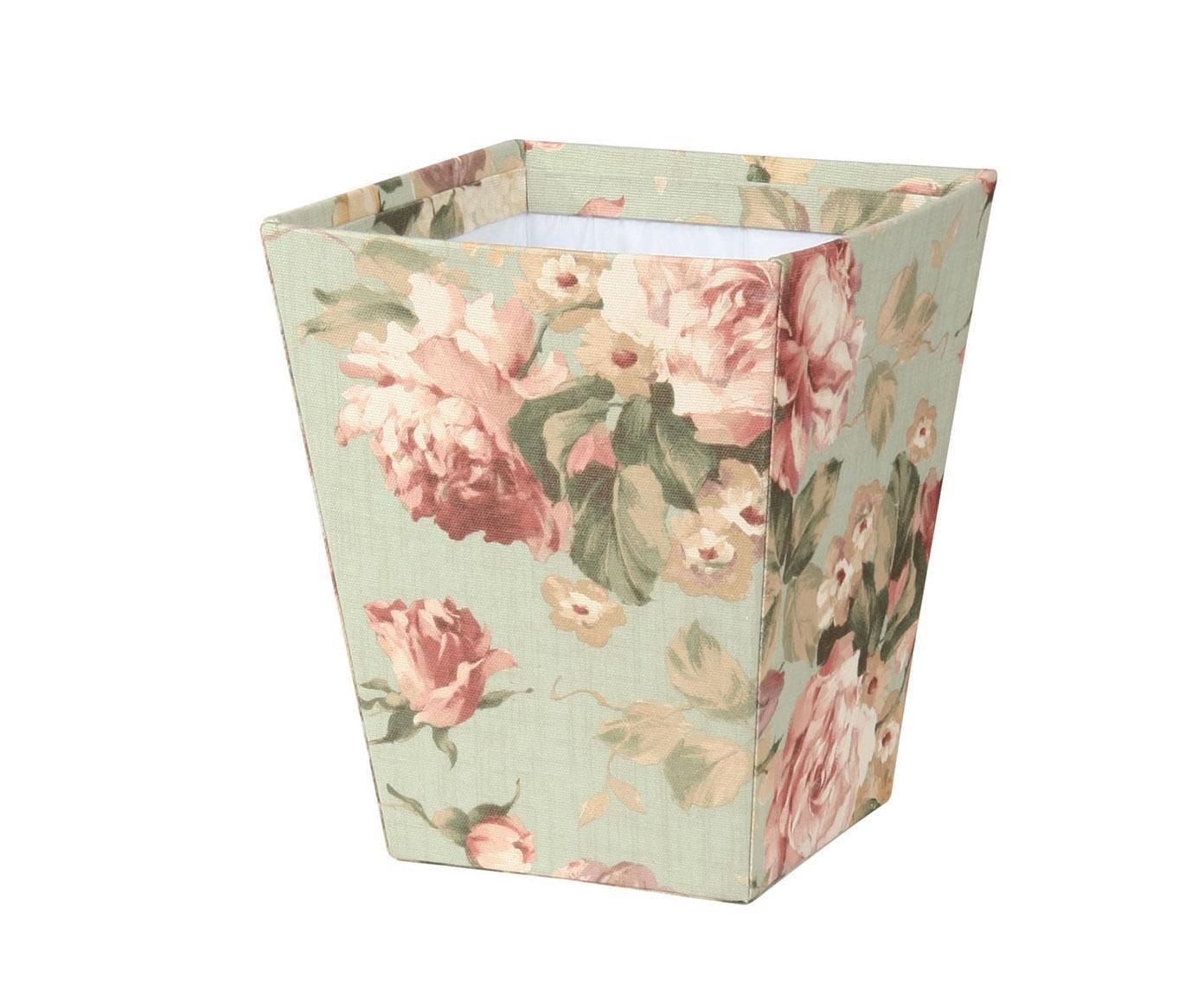 Appartment D Amour Kosz Lucia 79 Nasza Cena 110 Cena Det Shabby Chic Flowers Wastepaper Basket Waste Basket