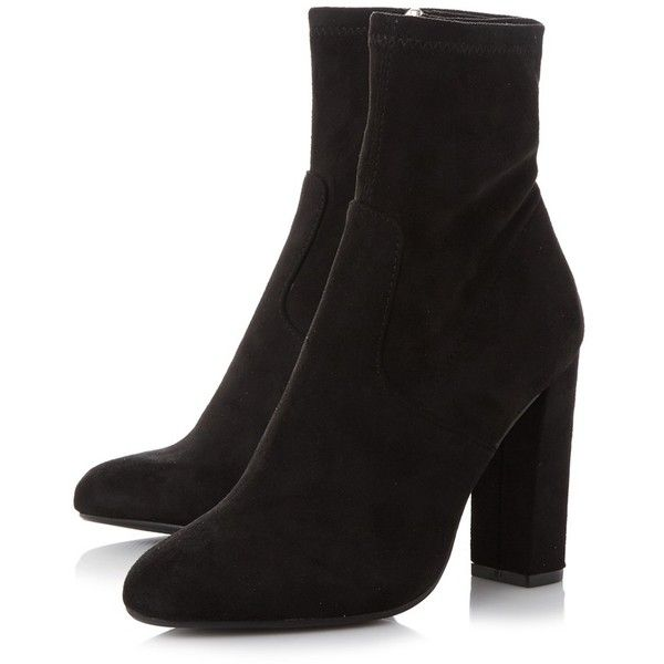 clearance wholesale price discount low shipping fee Black 'Editt' high block heel ankle boots free shipping low shipping fee nX9Vo0JaE