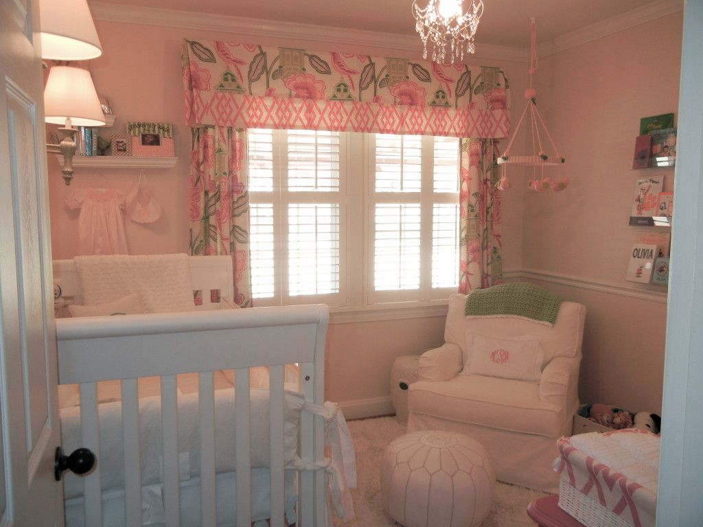 Mary Alice\'s Sophisticated Nursery | Custom curtains, Project ...
