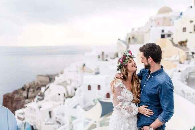 Heiraten auf Santorini –Wie Sie unbezahlbare Erinnerungen bei der Destination Wedding kreieren