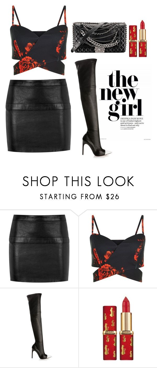"""""""Senza titolo #1710"""" by mrsagati ❤ liked on Polyvore featuring Yves Saint Laurent, Givenchy and Chanel"""