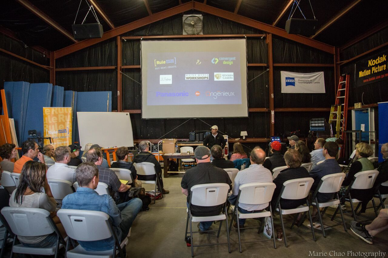 Glad to be involved in last weeks Maine Media Workshop events including this one on 4K NOW! https://www.youtube.com/watch?v=PnIzrEkBcaM -- see photos from the 4K NOW Workshop here: https://www.facebook.com/media/set/?set=a.10153025969928797.1073741880.46957103796&type=3