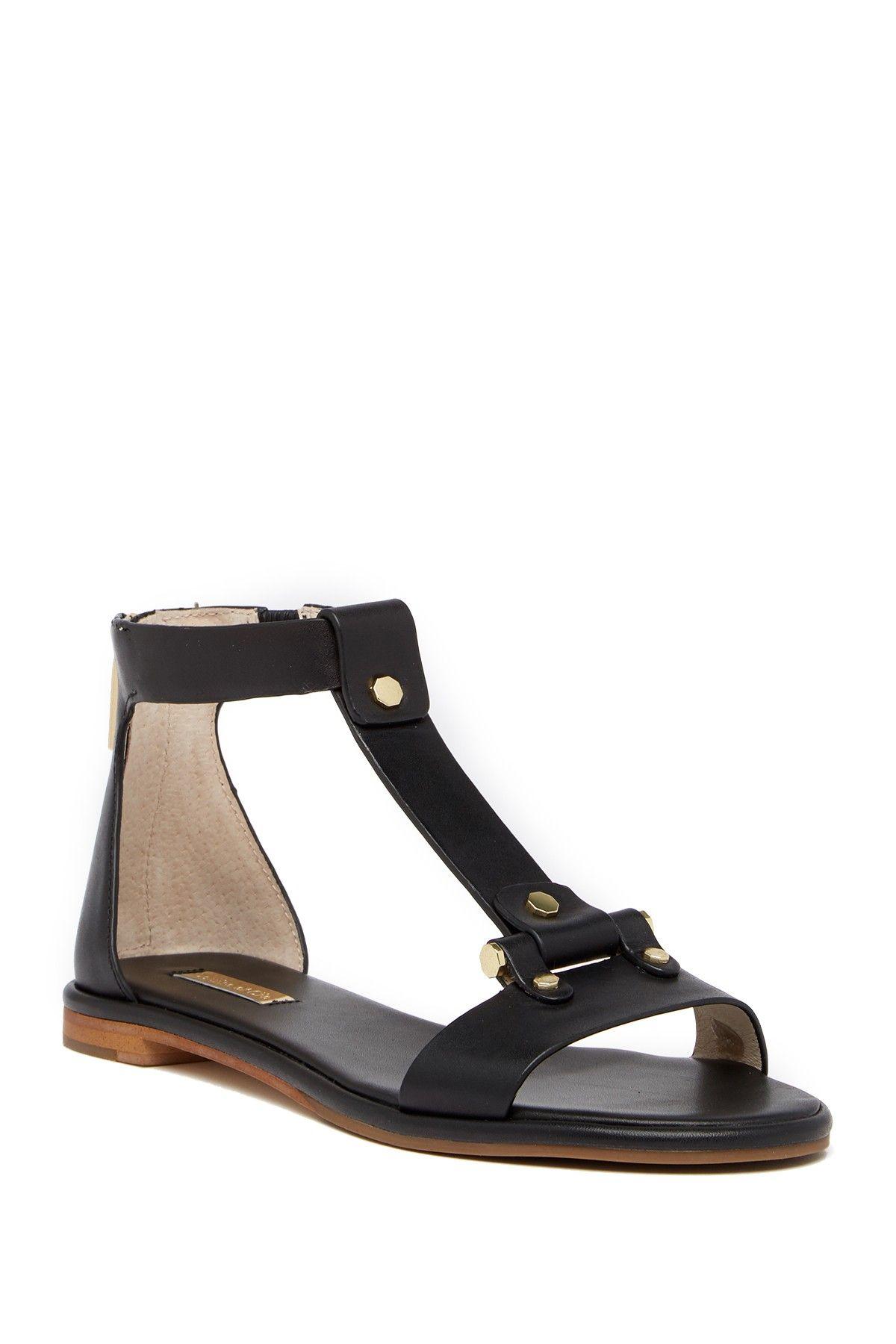 87a802c2e58 Louise et Cie Citrona T-Strap Leather Sandal