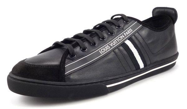 ffdd0734160 Louis Vuitton Mens Shoes Size 11, US 12 Cosmos Sneaker MS0150 Black ...