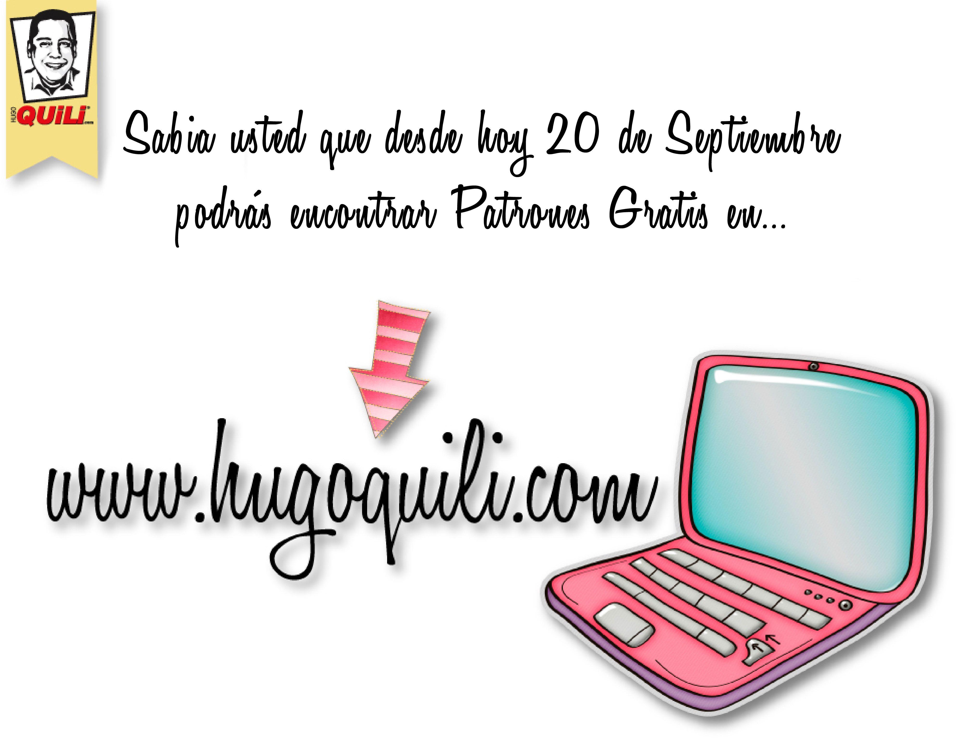 Patrones Gratis www.HugoQuili.com | manualidades | Pinterest ...