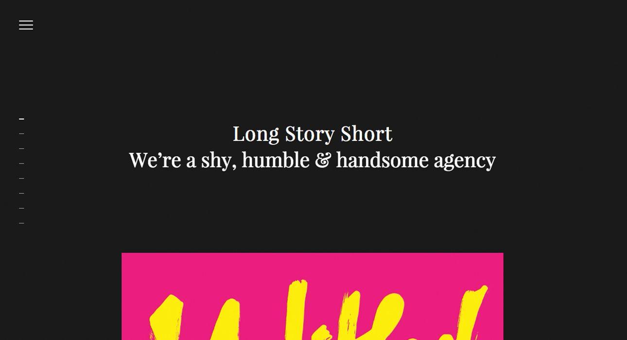 Long Story Short Awwwards Sotd Awwwards Web Design Trends Long Story Short