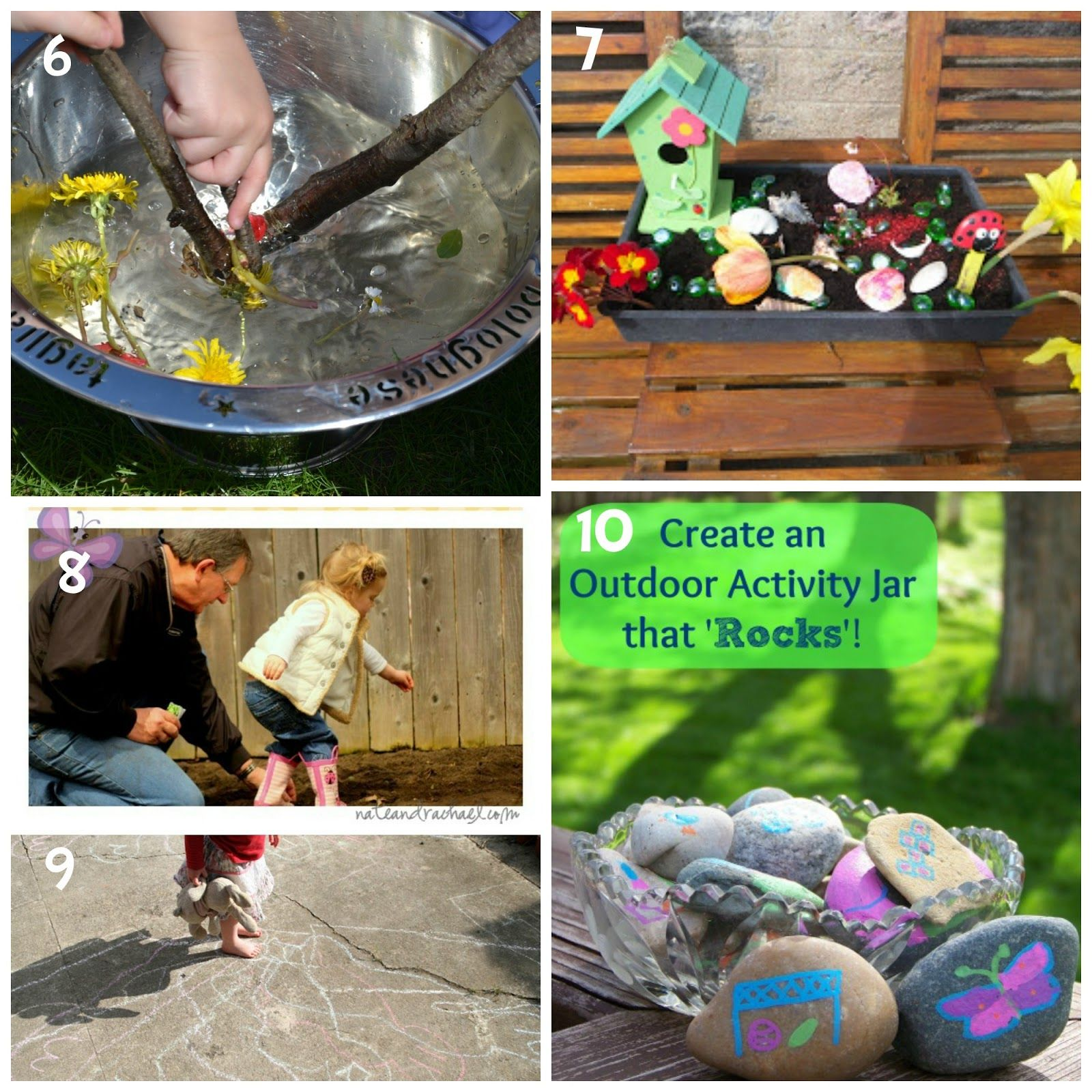 10 Outside Activities for Kids