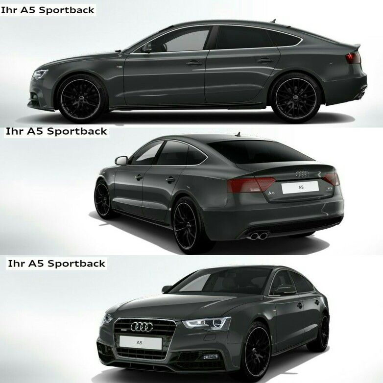 Audi A5 Sportback (meiner ) | Audi a5 sportback, Audi a5 ...